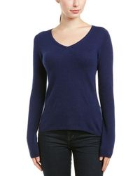 Quinn Cashmere Sweater - Blue