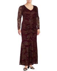 Marina - Lace Mermaid Dress - Lyst