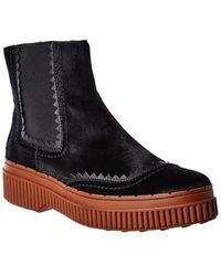 Tod's Tod?s Haircalf Chelsea Boot - Black