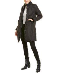 Via Spiga Reversible Coat - Black