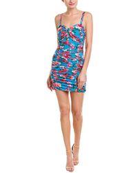Ronny Kobo Bianca Mini Dress - Blue