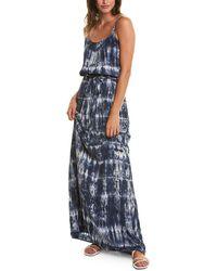 Michael Stars Athena Maxi Dress - Blue
