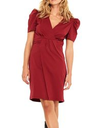 Ba&sh Joplin Sheath Dress - Red