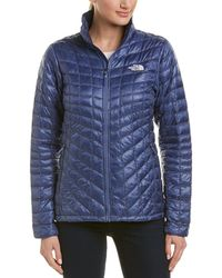 The North Face Thermoball Full Zip Jacket - Blue