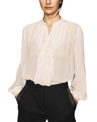 Reiss Pip Top - Natural