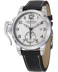 Graham Chrnofighter Watch - Metallic