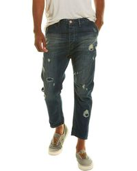 One Teaspoon Mr Browns Raw Relaxed Tapered Jean - Blue
