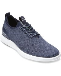 Cole Haan Grand Essex Distance Knit Oxford - Blue
