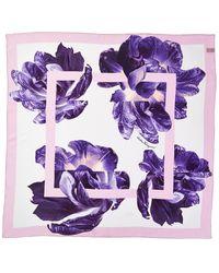 Ferragamo Square Scarf - Purple