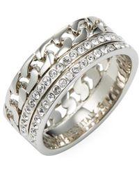 Vita Fede - Catena Crystal Ring - Lyst
