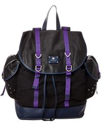 Versace Leather Backpack - Multicolor