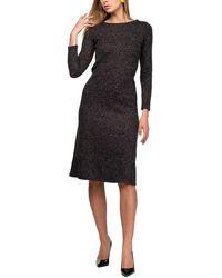 Aerin Wool-blend Dress - Black