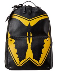 Valentino Leather Backpack - Black