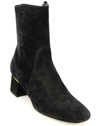 Tod's Tod?s Suede Boot - Black