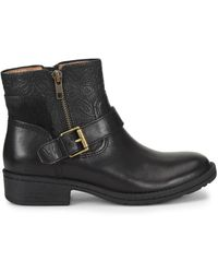 Comfortiva Sterns Leather Bootie - Black
