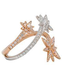 Diana M. Jewels . Fine Jewellery 14k Two-tone 0.81 Ct. Tw. Diamond Ring - Metallic