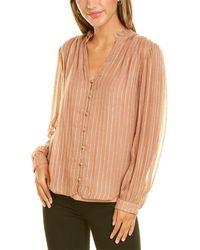 Velvet By Graham & Spencer Tomei Shirt - Pink
