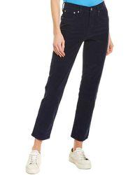 J.Crew Corduroy Vintage Straight Pant - Blue