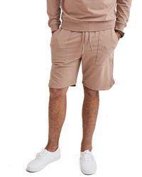 Goodlife Clothing Micro Terry Scallop Short - Natural
