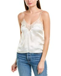Alice McCALL Play It Cool Silk Cami - White