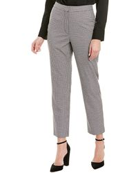 BCBGMAXAZRIA Plaid Pant - Black