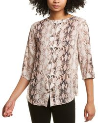 Insight Printed Blouse - Multicolor