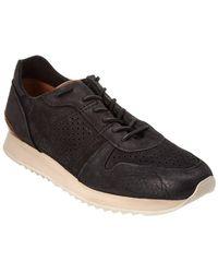 Frye - Keith Runner Leather Sneaker - Lyst