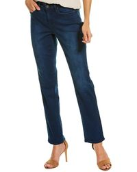 NYDJ Sheri Cooper Slim Leg Jean - Blue