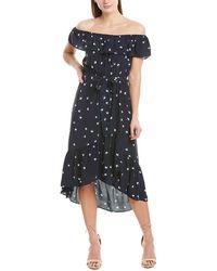 Greylin Payton Midi Dress - Blue