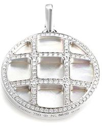 Cartier - Cartier Pasha 18k Mother-of-pearl Necklace - Lyst