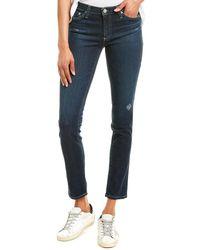 AG Jeans The Prima 8 Years Indigo Haze Cigarette Leg - Blue
