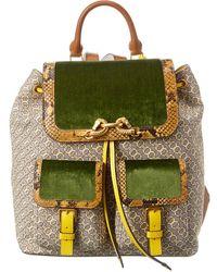 Tory Burch Jessa Flap Backpack - Multicolour