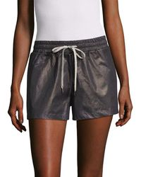 Hanro Drawstring Short - Gray