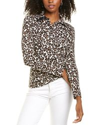 Marc Cain Funnel Neck Top - White