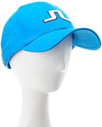J.Lindeberg Golf Angus Tech Stretch Cap - Blue