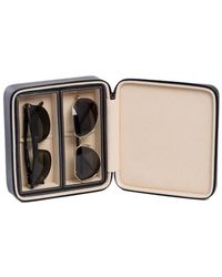 Bey-berk Two Sunglass Travel Case - Multicolour