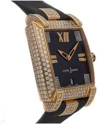 Ulysse Nardin Ulysse Nardin Leather Diamond Watch - Multicolour