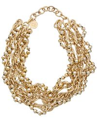 Dior - Pearl Necklace - Lyst
