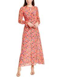 Saloni Becky Maxi Dress - Multicolour