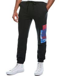 Ovadia Hoop Sweatpant - Black