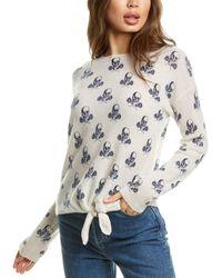 Skull Cashmere Kourtney Cashmere Sweater - White