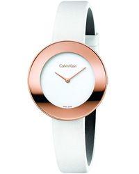 Calvin Klein Chic Watch - White