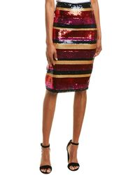 Trina Turk Cava Pencil Skirt - Pink
