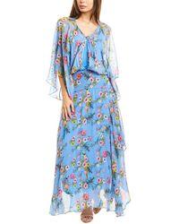 Pinko Campanelllo Maxi Dress - Blue