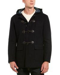 Brooks Brothers Wool-blend Duffle Coat - Blue