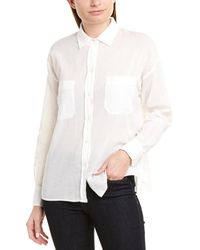 Vince Textured Blouse - White