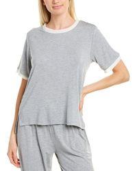 Flora Nikrooz Chiffon T-shirt - Grey