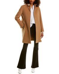 Cinzia Rocca Wool & Cashmere-blend Coat - Brown