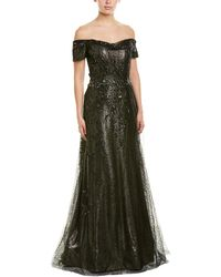 Rene Ruiz Collection Gown - Metallic