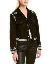 IRO August Leather Jacket - Black